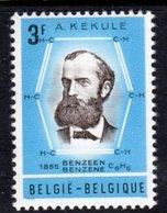 BELGIUM - 1966 KEKULE ANNIVERSARY STAMP FINE MNH ** SG 1975 - Belgium