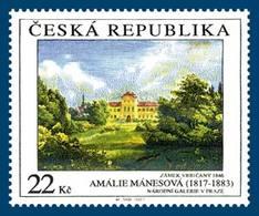 533 Czech Republic Amalie Manesova (1817 - 1883) : Vrbicany Castle 2007 - Ungebraucht