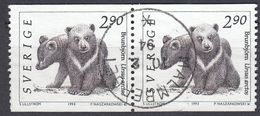 SVERIGE - SVEZIA - SWEDEN - 1993 - Due Valori Yvert 1738 Usati, Uniti Fra Loro, Come Da Immagine. - Usati