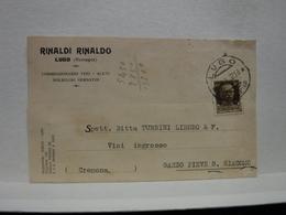LUGO  --- RAVENNA  ---  RINALDO RINALDI N -- COMMISSIONARIO  VINI  --ACETI - Vigne