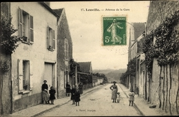 Cp Leuville Essonne, Avenue De La Gare - Autres Communes