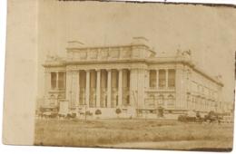"""ANVERS-ANTWERPEN"""" FOTOKAART 1889-MUSEUM VAN SCHONE KUNSTEN IN AANBOUW"""" - Antwerpen"""