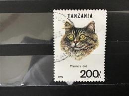 Tanzania - Katten (200) 1992 - Tanzania (1964-...)