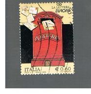 ITALIA REPUBBLICA  -   2008     EUROPA                -   USATO  ° - 6. 1946-.. República
