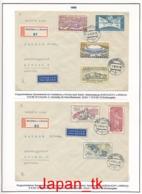 TSCHECHOSLOWAKEI Ausgaben Aus Jahrgang 1946 - 1948 - Siehe Scan - Gebraucht