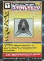 B - CARTE DIGIMON ATOMISEUR PIEGE AERIEN BO-43 FR ETAT COURANT (Bords Usés Et écornés) - Trading Cards