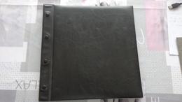 Album De Couleur Noire Pour Feuilles Entières. Avec 50 Pages Recto-verso Format 31cm X 30cm - Bindwerk Met Pagina's