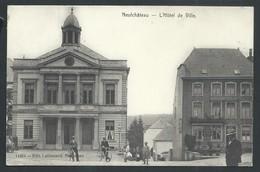 +++ CPA - NEUCHATEAU - L'Hôtel De Ville - Café Billard   // - Neufchâteau