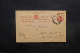 PALESTINE - Entier Postal De Tel Aviv Pour Berlin En 1937 - L 32437 - Palestina