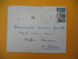 Lettre De La Réunion CFA  1970  N° 372  De  Sainte Marie   Pour  Sainte Clotilde - Reunion Island (1852-1975)