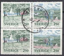 SVERIGE - SVEZIA - SWEDEN - 1990 - Due Valori Yvert 1566a Usati, Uniti Fra Loro, Come Da Immagine. - Usati