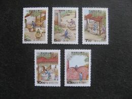 TAIWAN ( FORMOSE) : TB Série N° 2287 Au N° 2291, Neufs XX. - 1945-... République De Chine