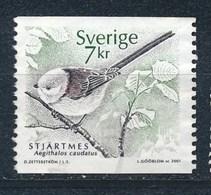 Schweden 2001 Mi. 2231 Gest. Vogel Stjärtmes - Schweden