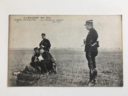 AK Armee Francaise La Telephonie Militaire Soldats Telefonie Communication Uniform - Guerre 1914-18