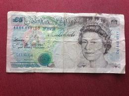ANGLETERRE Billet De 5 Pound Ayant Circulé - 1952-… : Elizabeth II