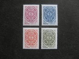 TAIWAN ( FORMOSE) : TB Série N° 2292 Au N° 2295, Neufs XX. - 1945-... République De Chine