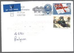 Yv 1168 Train,locomotive, +2280a Drapeau S/lettre  De Southampton 2009 - 1952-.... (Elizabeth II)