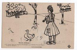 Illustrateur FIGEROU * GOULEBENEZE * SACREE DROLESSE * OIES * SABOT * Trèfle - Otros Ilustradores
