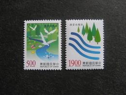 TAIWAN ( FORMOSE) : TB Paire N° 2300 Et N° 2301, Neufs XX. - 1945-... République De Chine
