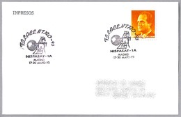 Satelite HISPASAT-1A. Madrid 1993 - FDC & Conmemorativos