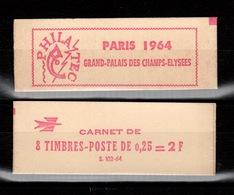 Carnet 1331-C 3A Coq De Decaris PHILATEC 64 S. 102-64 Fermé. Parfait état, Timbres Frais, Rarement Offert - Carnets