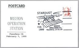 STARDUST - COMET SAMPLE RETURN. Pasadena CA 1999 - FDC & Conmemorativos