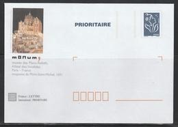 TSC MONUM PARIS PLANS RELIEFS - INVALIDES - MONT SAINT MICHEL  S/ LAMOUCHE - Entiers Postaux