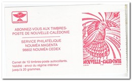 Nieuw Caledonië 1998, Postfris MNH, Birds ( Booklet, Carnet ) - Markenheftchen