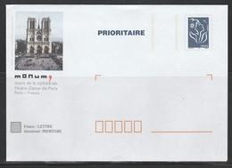 TSC MONUM PARIS NOTRE DAME  S/ LAMOUCHE - Prêts-à-poster:Stamped On Demand & Semi-official Overprinting (1995-...)