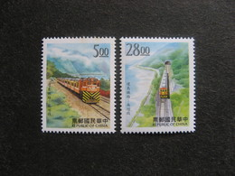 TAIWAN ( FORMOSE) : TB Paire N° 2318 Et N° 2319, Neufs XX. - 1945-... République De Chine