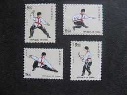 TAIWAN ( FORMOSE) : TB Série N° 2326 Au N° 2329, Neufs XX. - 1945-... République De Chine