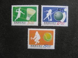 TAIWAN ( FORMOSE) : TB Série N° 2330 Au N° 2332, Neufs XX. - 1945-... République De Chine