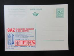 ENTIER CP PUBLIBEL 2532F , 2534N , 2533FN, . BRULAUGAZ . .  NEUF - Publibels