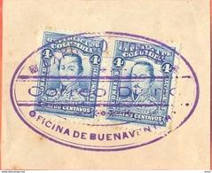 COLOMBIA: EXPRESO TOBON Cut Out Correo Diario Oficina De Buenaventura Private Carrier RARE - Colombie