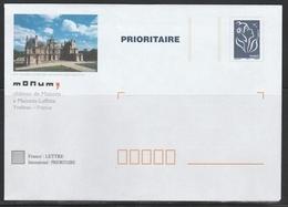 TSC MONUM  CHÂTEAU De MAISONS LAFFITTE - S/ LAMOUCHE BLEU - Entiers Postaux