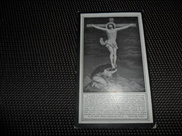 Doodsprentje ( G 843 )   Claerbout / Goemaere  -  Heule   Kortrijk  Courtrai  1922 - Obituary Notices