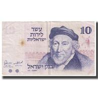 Billet, Israel, 10 Lirot, KM:39a, TB - Israel