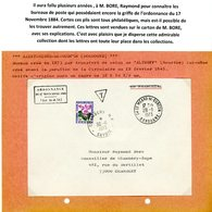 DORDOGNE ORDONNANCE / 17 NOVEMBRE 1844 / (Art 30 ET 31) ENV 1973 ST MEARD DE GURCON ET TAXE CHAMBERY SAVOIE => VOIR DESC - Postmark Collection (Covers)