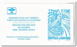 Nieuw Caledonië 2006, Postfris MNH, Birds ( Booklet, Carnet ) - Boekjes