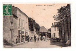Muron Rue Des Halles - France