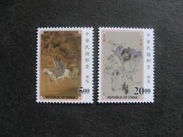 TAIWAN ( FORMOSE) : TB Paire N° 2372 Et N° 2373, Neufs XX. - 1945-... République De Chine