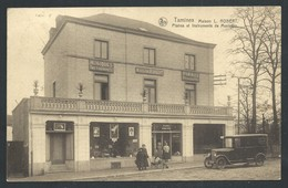 +++ CPA - Sambreville - TAMINES - Maison L.Robert - Commerce Pianos Et Instruments De Musique - Auto - Nels    // - Sambreville