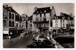 - CPSM LE CROISIC (44) - Quai D'Aiguillon (belle Animation) - Photo CIM N° 9 - - Le Croisic