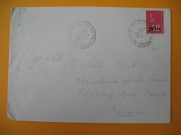 Lettre De La Réunion CFA  1971  N° 393  Marianne De Béquet Plaine Des Palmistes  Pour La France - Réunion (1852-1975)