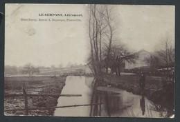 +++ CPA - Photo Carte - Foto Kaart - LE SERPONT - LIBRAMONT - Pêcheur    // - Libramont-Chevigny