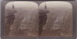 Parc De YOSEMITE  Vue Sur Le Glacier Photo Stéréo Underwood Et Underwood - Stereo-Photographie