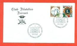 LIONS CLUB - MARCOFILIA -MILANO CENTRO 1993 - Francobolli