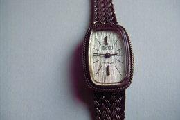 MONTRE De Marque WITT VINTAGE BOITIER Et BRACELET En ARGENT MASSIF RARE MONTRE FEMME A REVISER - Watches: Jewels