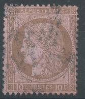 Lot N°49210  N°54, Oblit étoile Chiffrée De PARIS - 1871-1875 Cérès
