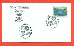 LIONS CLUB - MARCOFILIA -  FORLI 1992 - Francobolli